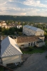 Вигляд з башти на Заліщицьку державну гімназію