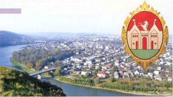 Місто Заліщики розташоване на лівому березі р. Дністер