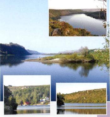 Каньйон річки Серет
